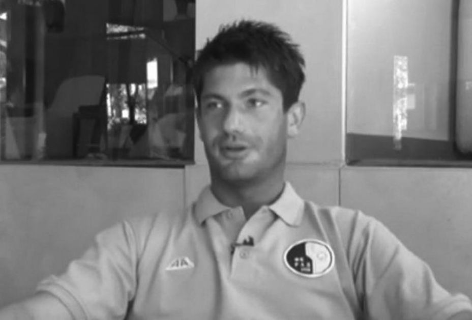FOTOGRAFIJA KOJA SLAMA: Miljan Mrdaković slavi svoj poslednji gol u karijeri...