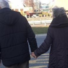FOTOGRAFIJA OBIŠLA PRESTONICU: Jedna slika danas je raznežila sve Beograđane, od sada veruju u pravu ljubav (FOTO)