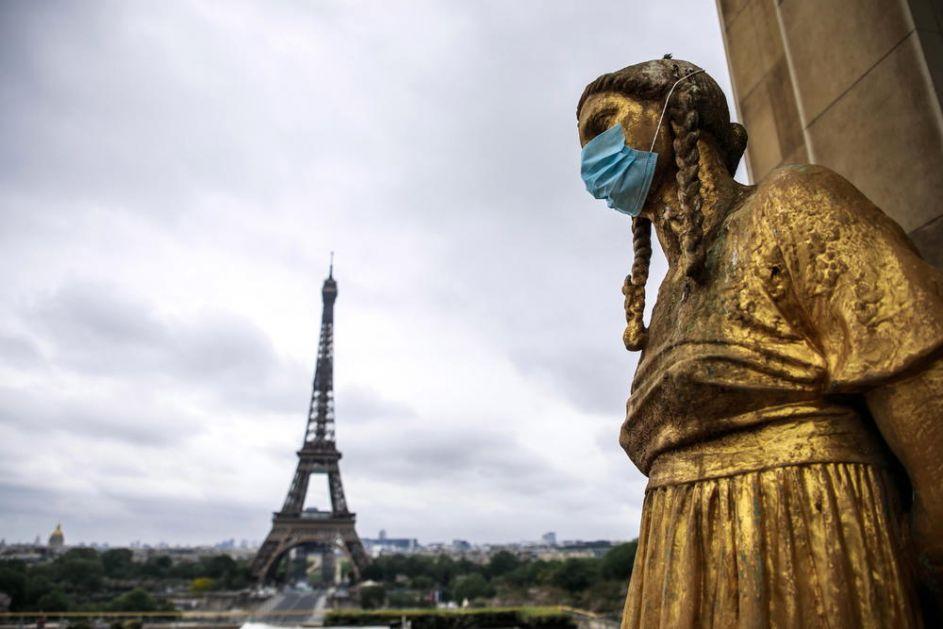 FRANCUSKA NA UDARU KORONE: 14.000 novih slučajeva, 63 umrlo u poslednja 24 sata, u Parizu alarmantno
