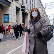 FRANCUSKA PRED KOLAPSOM: Više od 14.000 zaraženih u jednom danu, preminulo 313 ljudi