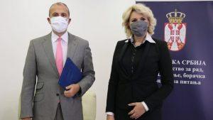 Fabrici: Srbija može da računa i dalje na pomoć EU u teškim vremenima zbog korone