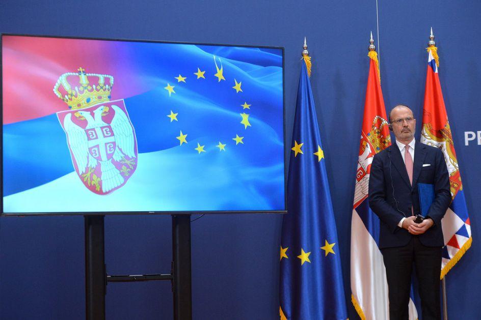 Fabrici: Budućnost Srbije je u Evropskoj uniji; Vučić: Evropu smatramo našom kućom