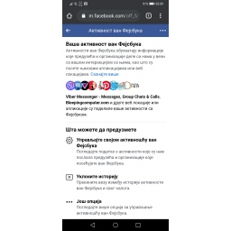 Facebookov alat Aktivnost van Facebooka sada je dostupan u svim zemljama
