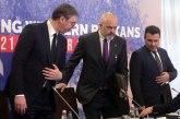 Fajnenšel Tajms piše o sastanku Vučića, Zaeva i Rame; Nastavljaju sa mini Šengenom, EU odugovlači