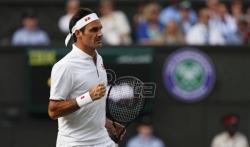 Federer u finalu Vimbldona posle velike borbe protiv Nadala
