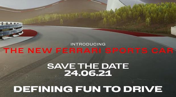 Ferrari najavio novi model za 24. jun