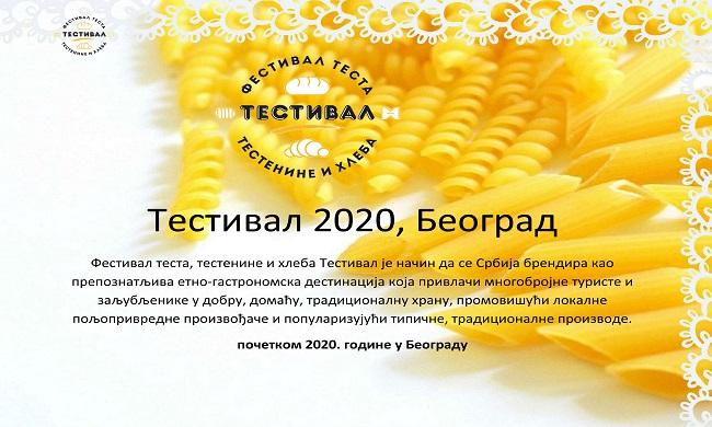 Festival testa, testenine i hleba TESTIVAL 2020