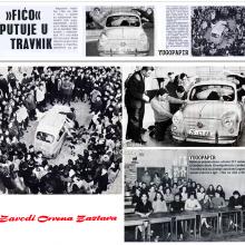 Fiat 750, postavljen apsolutni jugoslovenski rekord: U ficu se smestilo 26 ucenika iz Travnika (1969)