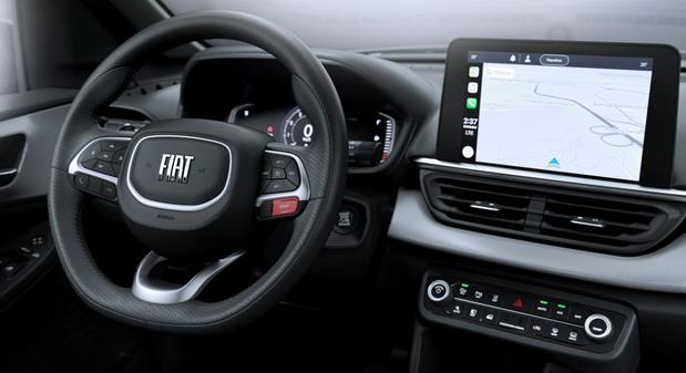 Fiat Pulse unutrašnjost