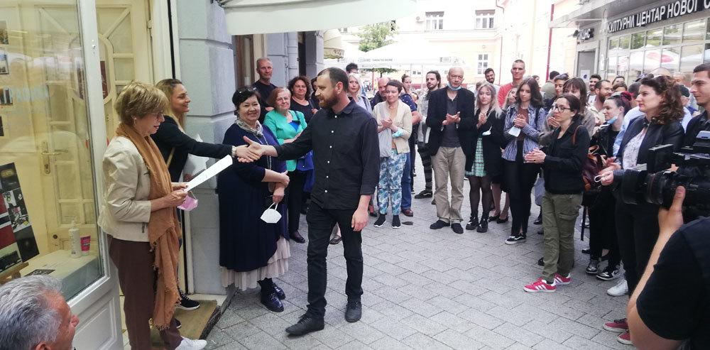 Filip Misita osvojio prvo mesto na  konkursu Mala grafika – Novi Sad 2021