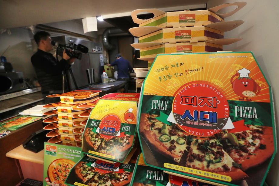 Film Parazit pogurao biznis u piceriji, pomama i za nudlama