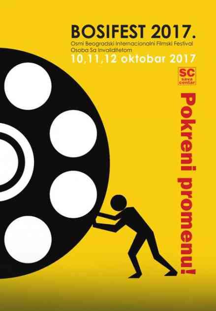 Filmski festival osoba s invaliditetom Bosifest od 10. oktobra u Sava centru
