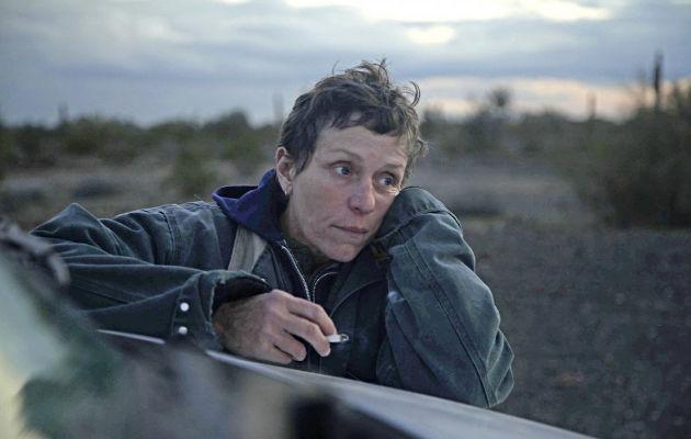 Filmu Nomadland BAFTA agrada za ajolji film!