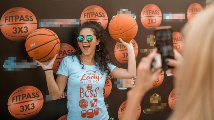 #FitPass3x3 - basket za obnovu terena