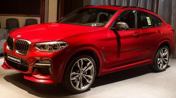 Flamenco Red BMW X4 M40i