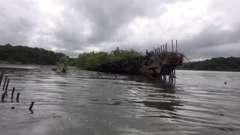 Flota duhova - groblje potopljenih brodova nadomak Vašingtona