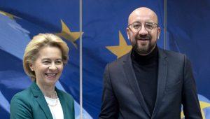 Fon der Lajen i Šarl Mišel potpisali sporazum o Bregzitu, sad ide u EP