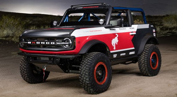 Ford Bronco 4600 Race Truck