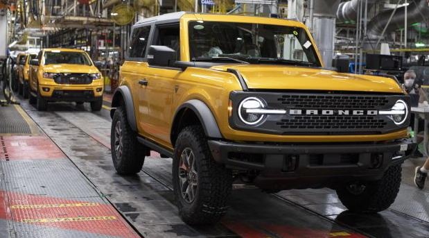 Ford Bronco u serijskoj proizvodnji