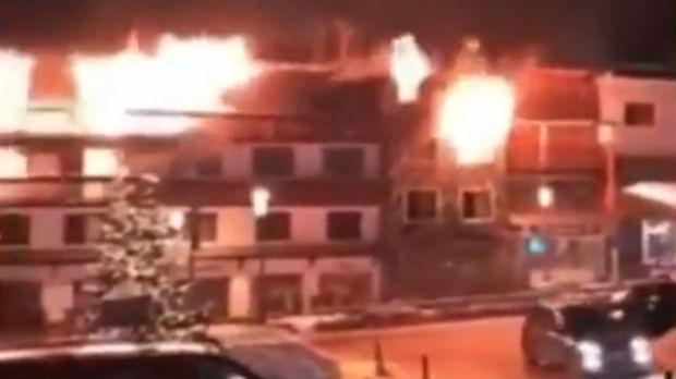 Francuska, požar u zgradi gde su smešteni sezonski radnici