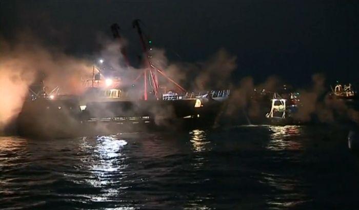 Francuski ribari napali britanske dimnim bombama