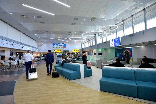 Fri-šop, restoran, Teslin trg: Novo lice beogradskog aerodroma FOTO