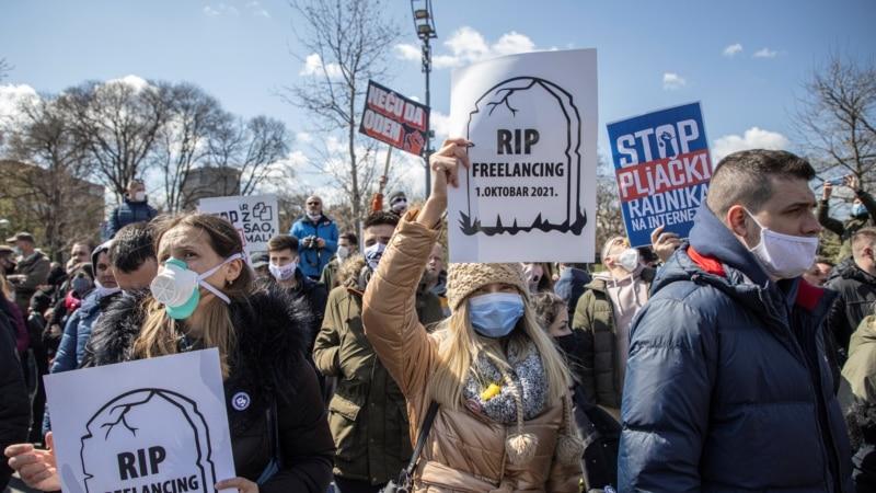 Frilenserima nije dozvoljen ulazak u Skupštinu Srbije