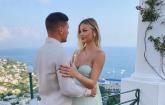 Fudbaler Luka Jović na jahti zaprosio trudnu manekenku FOTO
