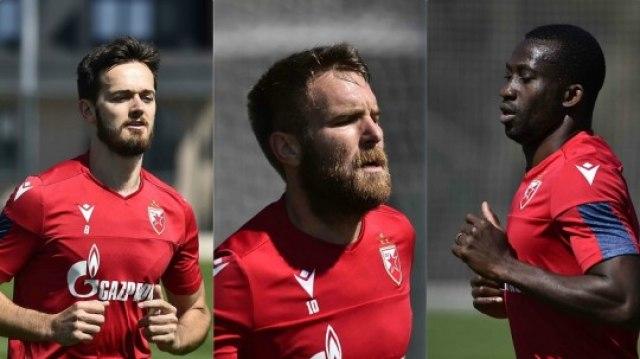 Fudbaleri Crvene zvezde odlično odradili bi-bi test