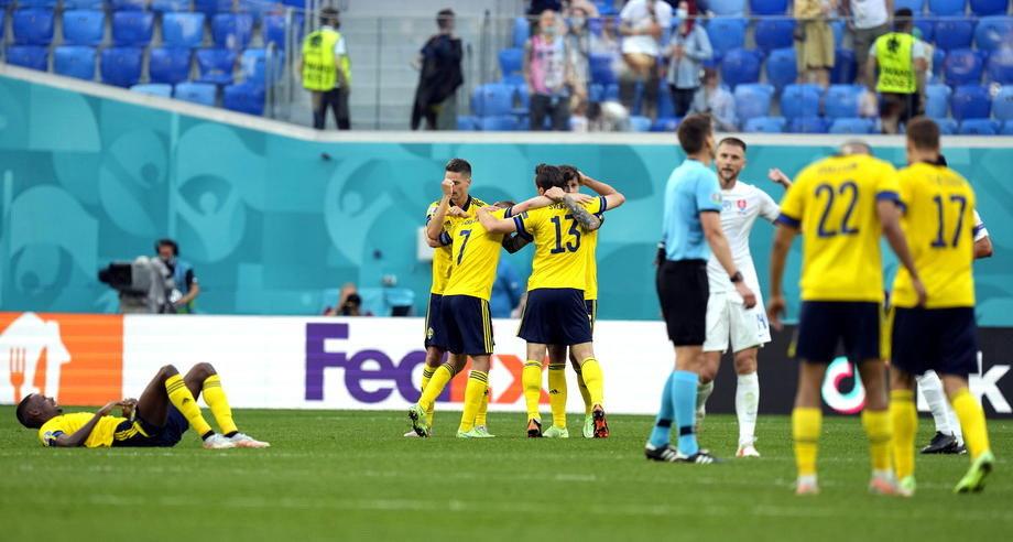 Euro 2021: Fudbaleri Švedske pobedili Slovačku; Remi Hrvatske i Češke u Glazgovu; Škotska odolela Englezima