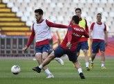 Fudbaleri Zvezde trenirali zajedno posle 58 dana