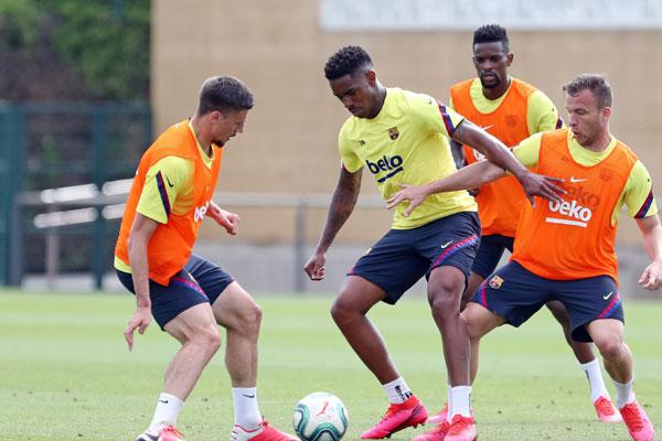 Fudbaleri španskih klubova od danas na zajedničkim treninzima (foto)