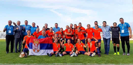 Fudbalerke Spartaka u Ligi šampiona