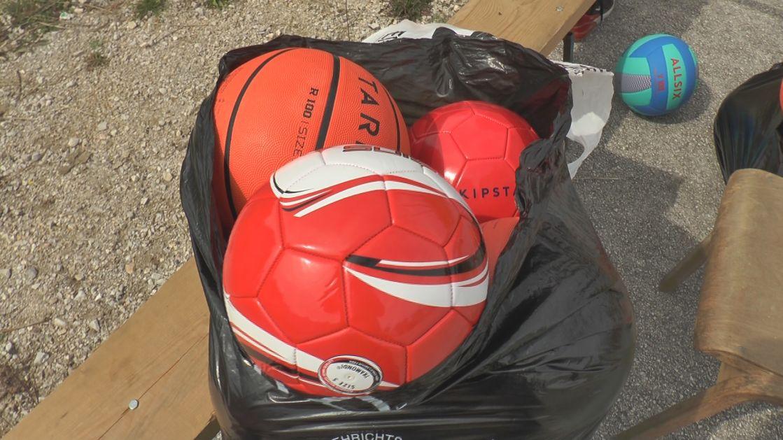 Fudbalske lopte za Osnovnu školu u Dugoj Poljani