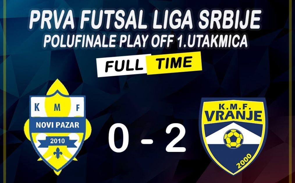 Futsaleri Novog Pazara neočekivano poraženi u polufinalu