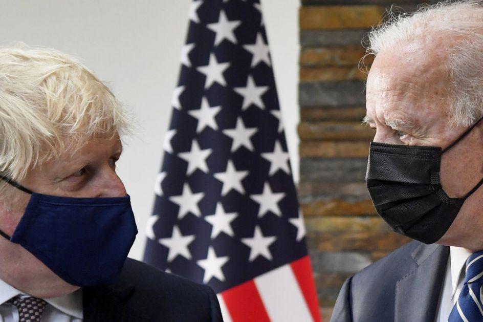 Džonson: G7 će obezbediti milijardu vakcina protiv kovida; Grupa nije neprijateljski raspoložena prema Kini