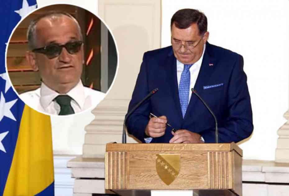 GALIJAŠEVIĆ UPOZORAVA: Dodik nije bezbedan u zgradi Predsedništva u Sarajevu!