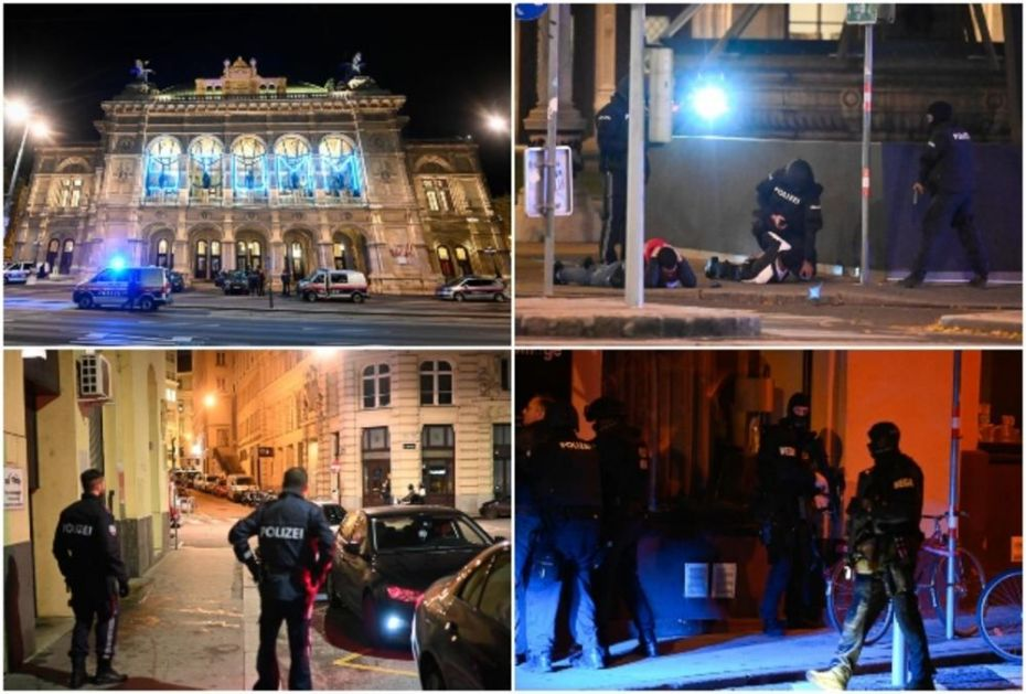 GASITE SVETLA I LEZITE DOLE! Očevici opisuju haos u Beču! Terorista pucao po gostima kafića, a onda je policija sve okružila