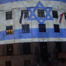 GEST SOLIDARNOSTI I PODRŠKA IZRAELU! Palata Republike Srpske osvetljena bojama izraelske zastave (FOTO)