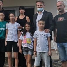 GEST ZA PAMĆENJE: Partizan USREĆIO porodicu Aćimović! Predsednik Mijailović ISPUNIO poslednju želju preminulom navijaču
