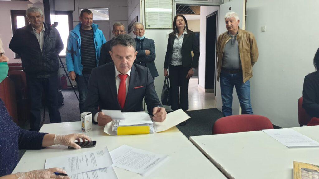 """GG """"Za bolju Novu Varoš"""" predala listu za izbore u Novoj Varoši"""