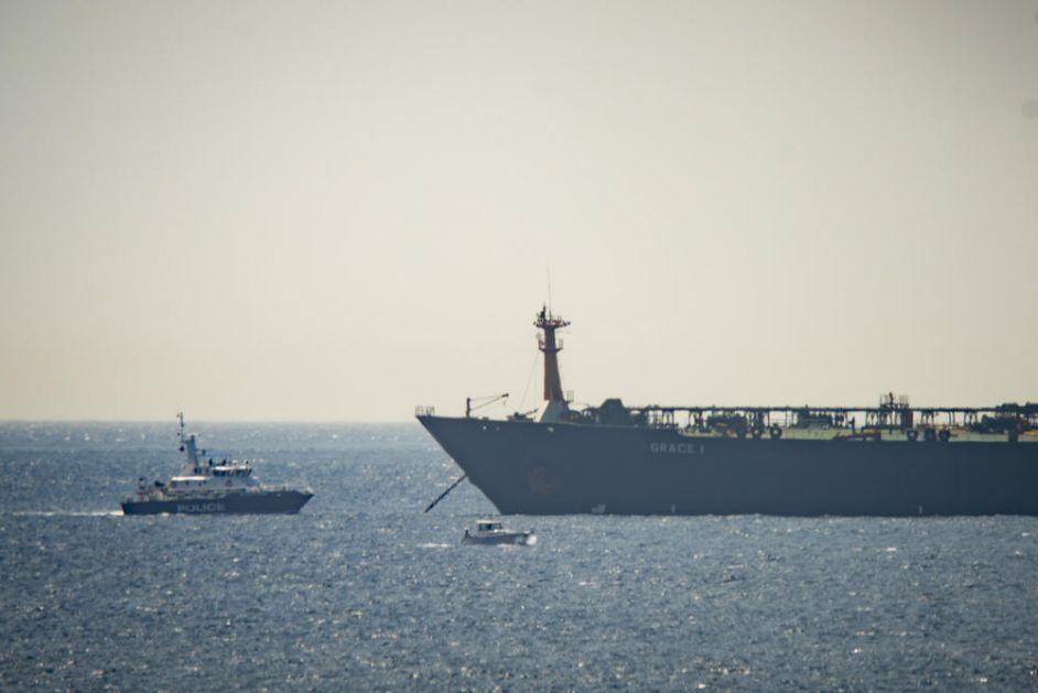 GIBRALTAR: Uhapšeni oficiri sa zaplenjenog iranskog tankera!