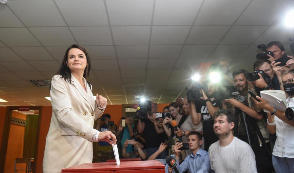 GLAVNA LUKAŠENKOVA PROTIVNICA ODUSTALA OD PROTESTA: Ne želim zbog provokacija da završim u zatvoru