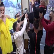 GLAVNA ZVEZDA: Milicu Dugalić PONELA atmosfera, zadrugari je PODIGLI pa zaigrali! (VIDEO)