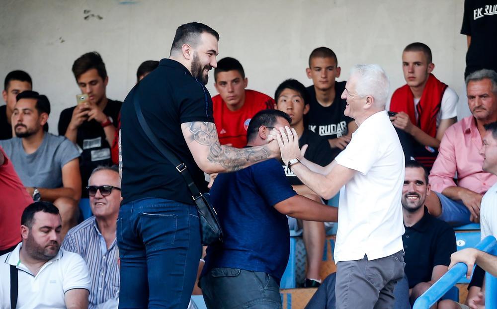 GLEDA PARTIZAN: Na tribinama stadiona u Nikšiću je i Nikola Peković