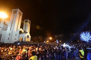 GO MEDIJANA: PREKO 10.000 LJUDI NA DOČEKU PRAVOSLAVNE NOVE GODINE