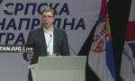 GO SNS O PREDIZBORNIM KOALICIJAMA,  Vučić: Uveren sam da ono što smo obećali možemo da ispunimo, a od danas na posao i da ubedljivo pobedimo  (VIDEO)