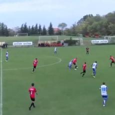 GOL SEZONE? Neverovatan pogodak u srpskom fudbalu sa više od 60 metara (VIDEO)