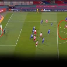 GOLČINA: Nikolić skinuo paučinu! Lobovao golmana sa 20 metara! A onda Spiridonović za 2:0 (VIDEO)