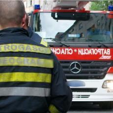 GORI GRADSKA DEPONIJA U ZRENJANINU: Gust dim se širi ka obodnim naseljima, požar gase vatrogasci